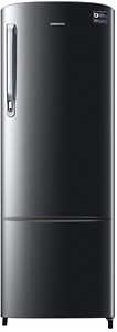 Samsung 255 L 3 star Direct cool Refrigerator - RR26N373ZR8 , Blooming saffron red price in India.