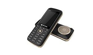 Micromax Big 3D Sound Speaker Phone (Gold Black, Dual Sim, 2500mAh)